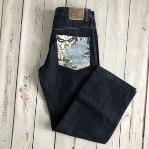 ECKO Unltd rare comic design pocket jeans